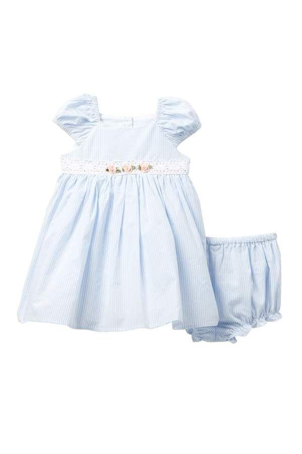 61e71175afc5 Laura Ashley Seersucker Stripe Dress (Baby Girls 12-24M) | Products ...