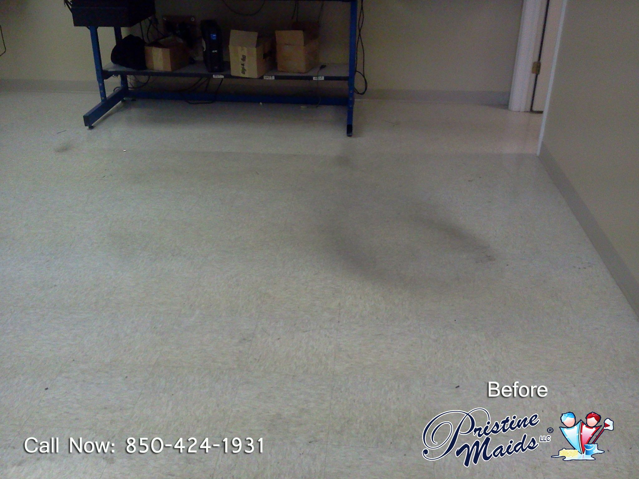 William Communications Strip Amp Wax Floor Before Floor