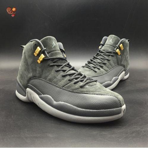 96125d8bdf2 Air Jordan 12 Dark Grey,Air Jordan 12 Inspired Shoe | Air Jordan 12 ...