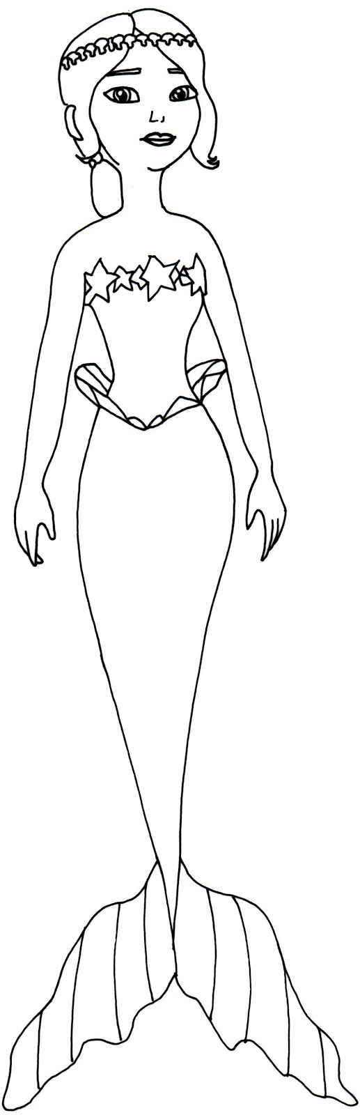 Mermaid Coloring Pages Princess Coloring Pages Disney Coloring Pages Printables