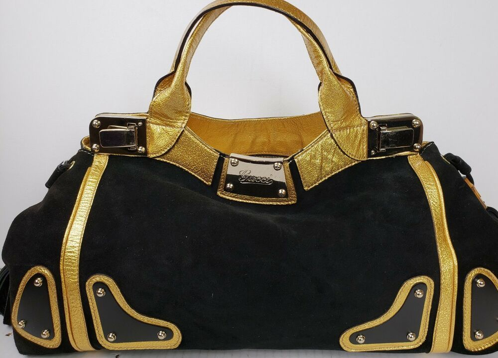 0ffd2928bbca2f AUTHENTIC GUCCI GUCCI GUCCI INDY RACE BAG W BAMBOO & TASSELS (BLACK SUEDE)  #fashion #clothing #shoes #accessories #womensbagshandbags (ebay link)