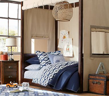 Sawyer Canopy Bed & Sawyer Canopy Bed | Boys Bedroom Ideas | Pinterest | Canopy ...