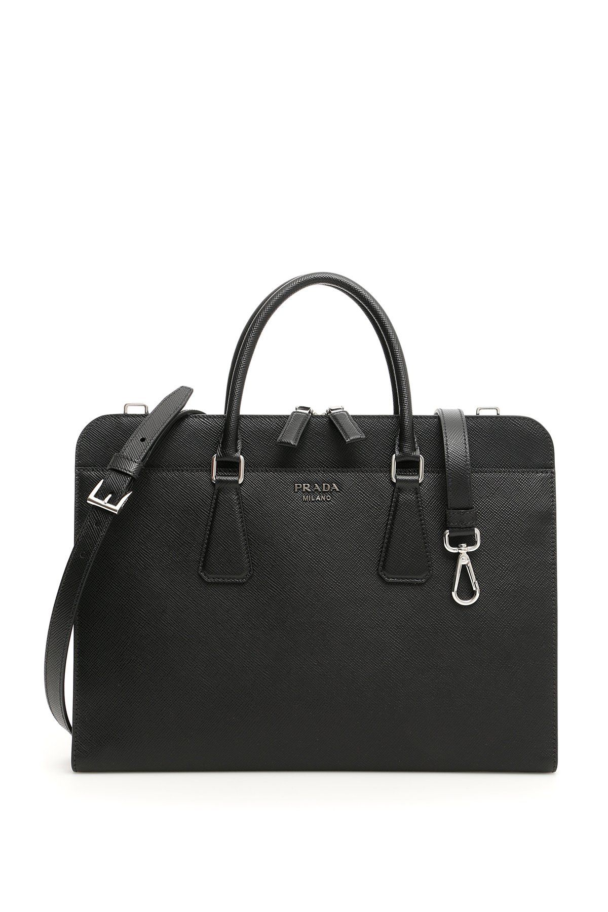 17fc3155fd3e PRADA PRADA SAFFIANO LAPTOP BAG.  prada  bags  shoulder bags  hand bags   leather
