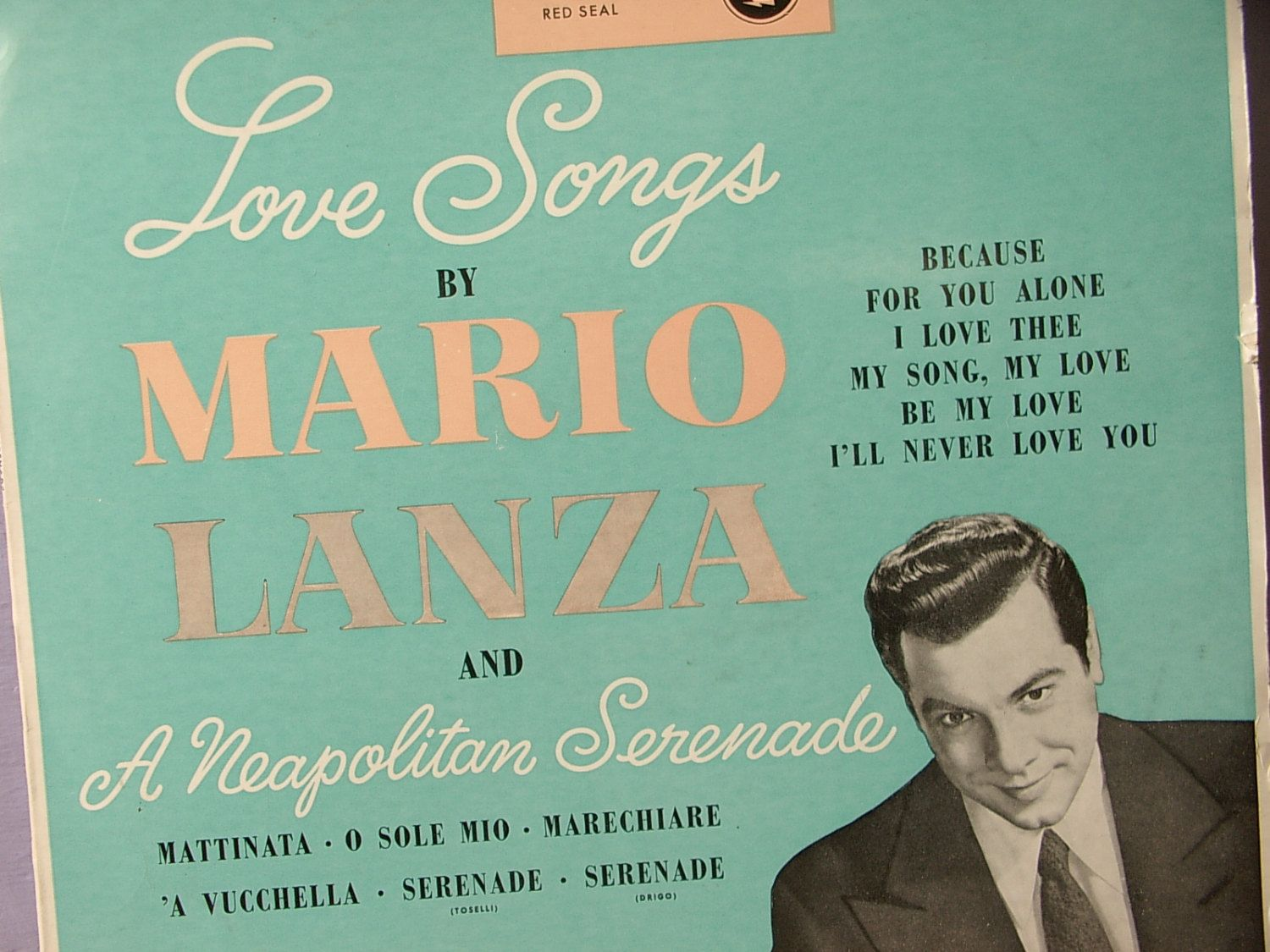 Rare Vintage S Early Rca Red Seal Love Songs By Mario