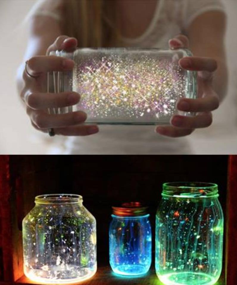Hervorragend Fabriquez une lampe magique! C'est fabuleux! | Idée de décoration  DG45