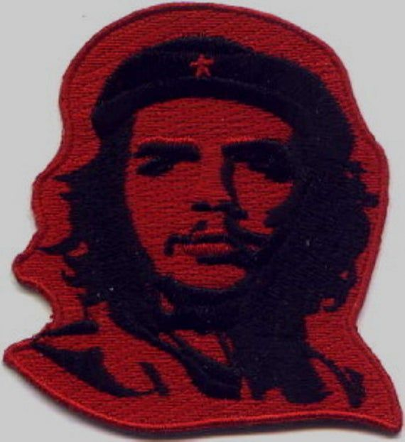 10 Pcs Ernesto Che Guevara Embroidered Patches 3.5x3.3 iron-on