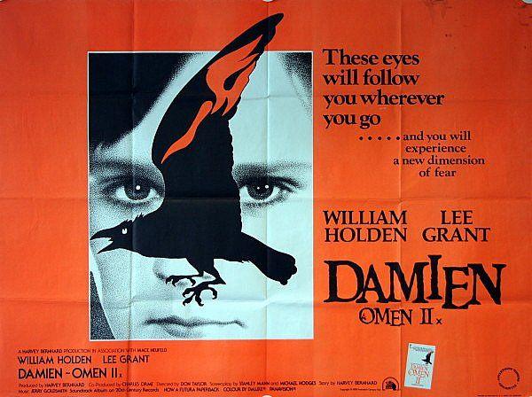 Damien: Omen II Original 1978 UK Quad Film Poster (With images ...