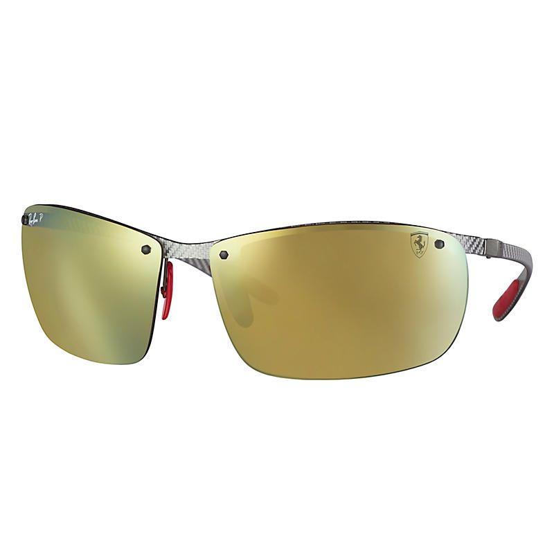 Ray-Ban Scuderia Ferrari Collection Grey Sunglasses 19c3cd65eea2
