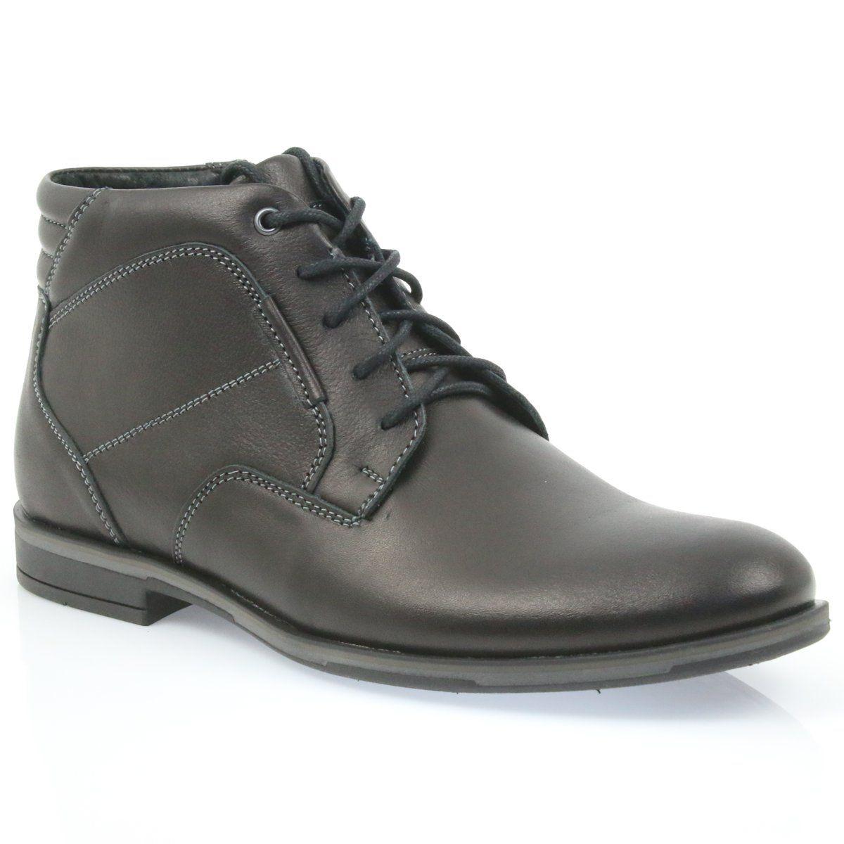 Riko Buty Meskie Botki Sztyblety 861 Czarne Mens Boots Casual Chelsea Boots Men Chelsea Boots Men Outfit