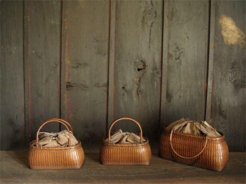 閑 - 竹の仕事-バッグ