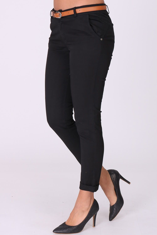 f9ab4f81cf6b Elegantné čierne dámske nohavice