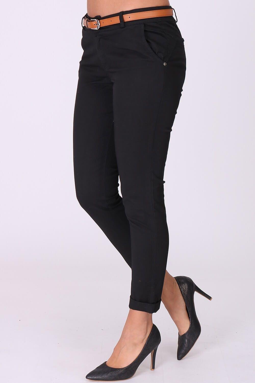 37a694e6818c Elegantné čierne dámske nohavice