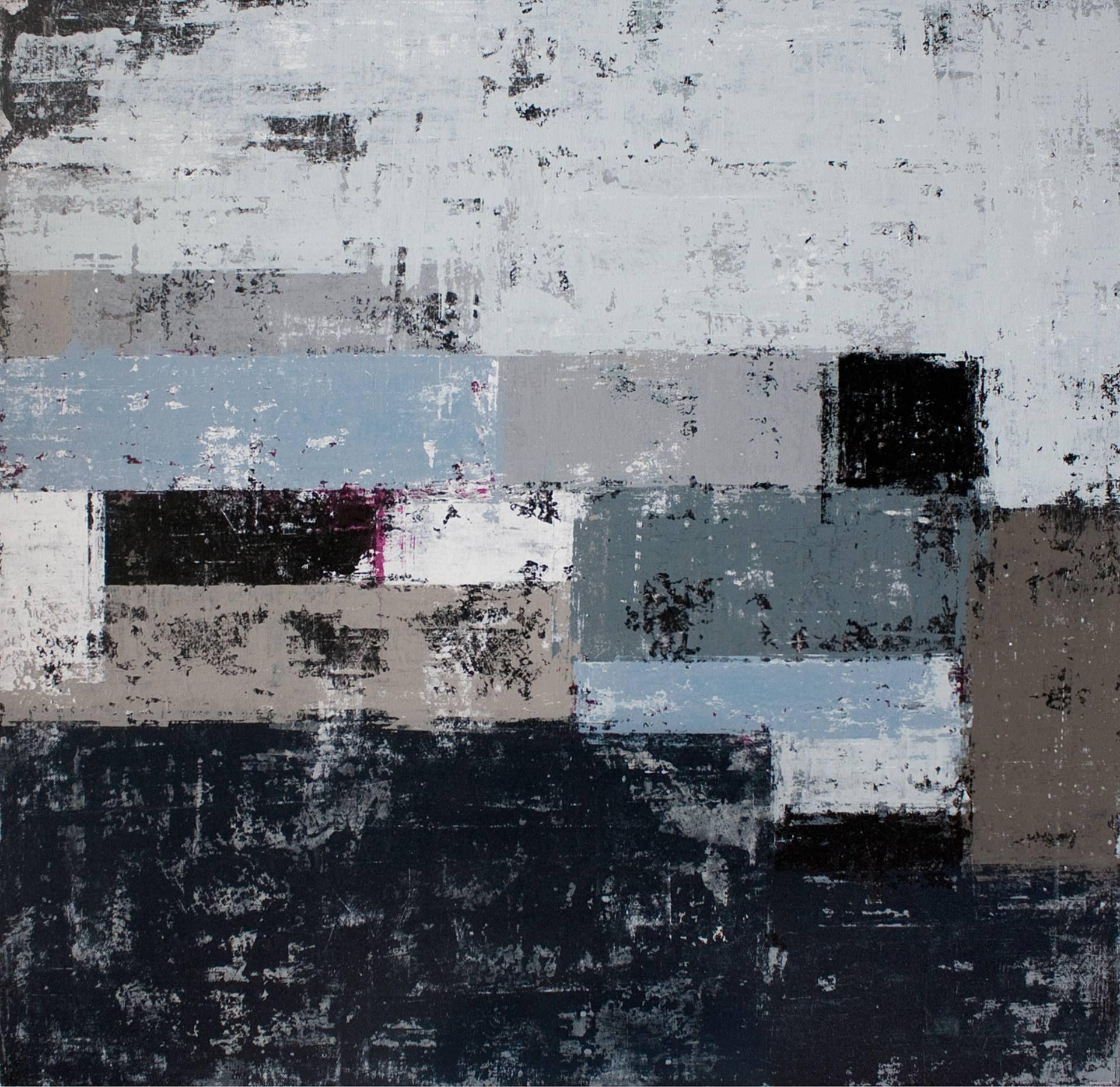 "Saatchi Art Artist: David Fredrik Moussallem; Acrylic 2013 Painting ""Darkmatter (SOLD)"""