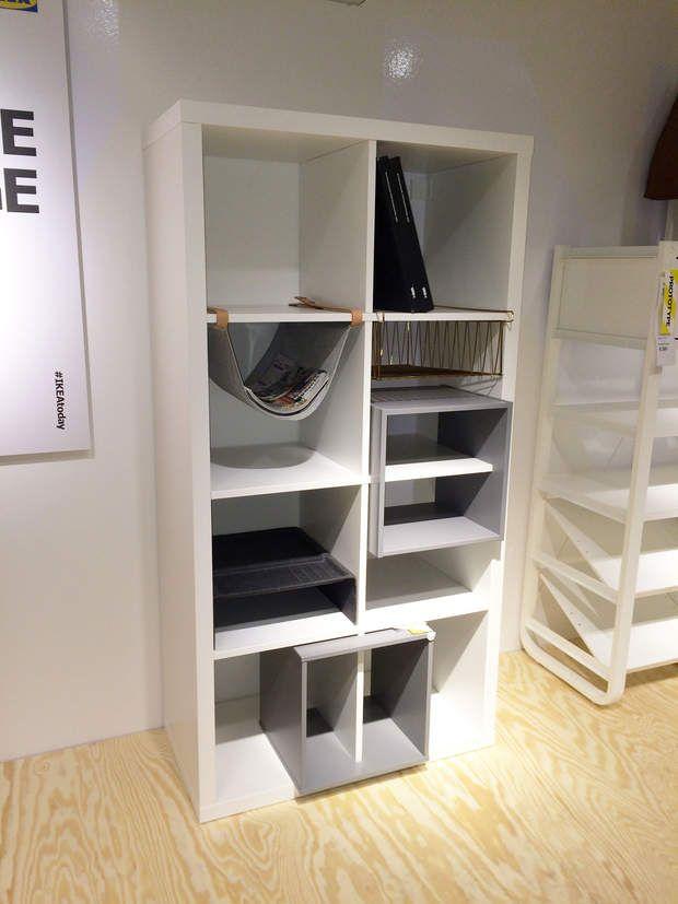 nouveaut ikea 2016 2017 nos coups de coeur storage pinterest insert casiers et la. Black Bedroom Furniture Sets. Home Design Ideas