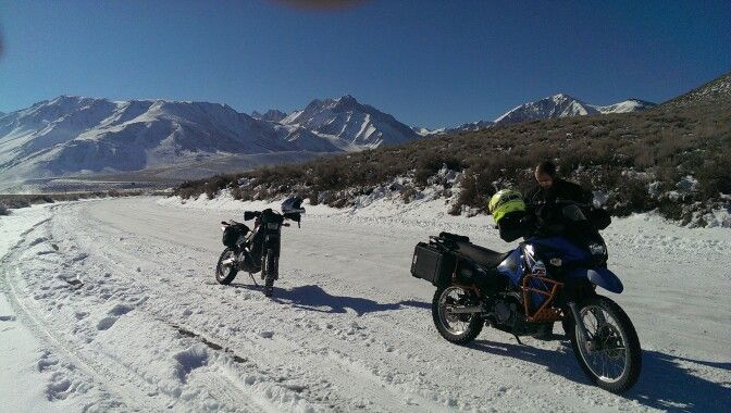 New Years eve ride today 12-31-16. 100+ miles and 22 degrees. Fun!