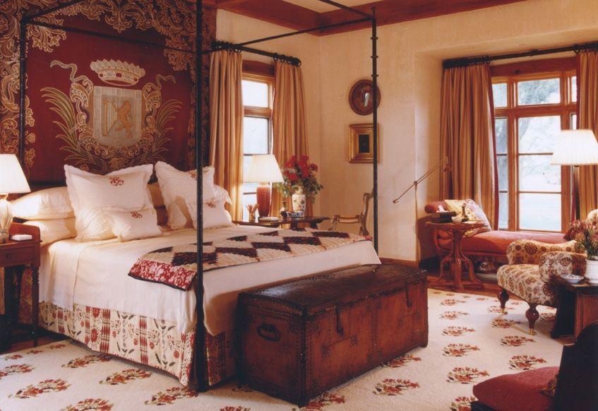 Best Regal Bedroom Bunny Williams Design Interior 640 x 480