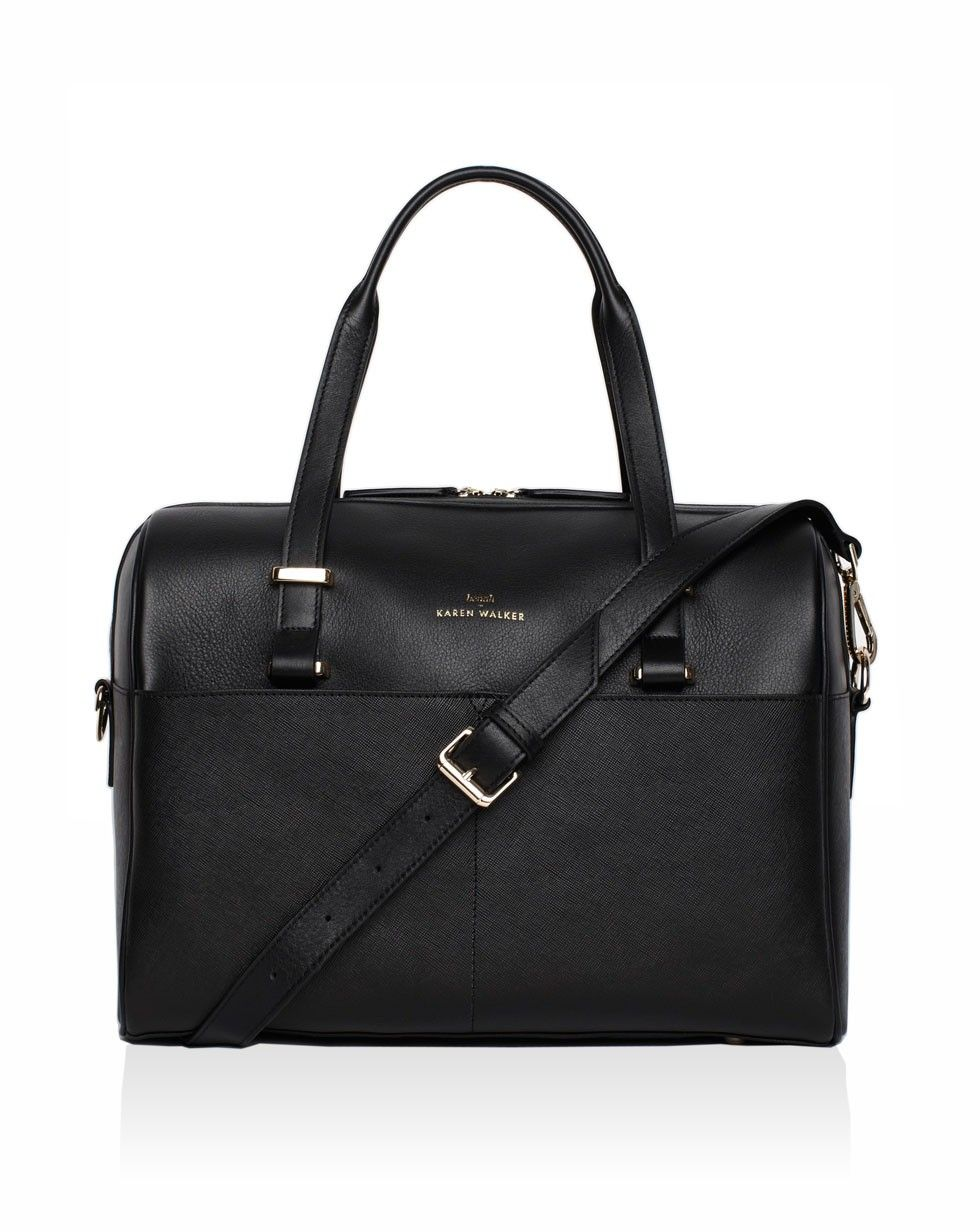 Andie Duffle Bag in Black designed by Benah for Karen