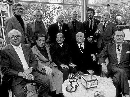 Image result for george cukor alfred hitchcock john ford together in one photo