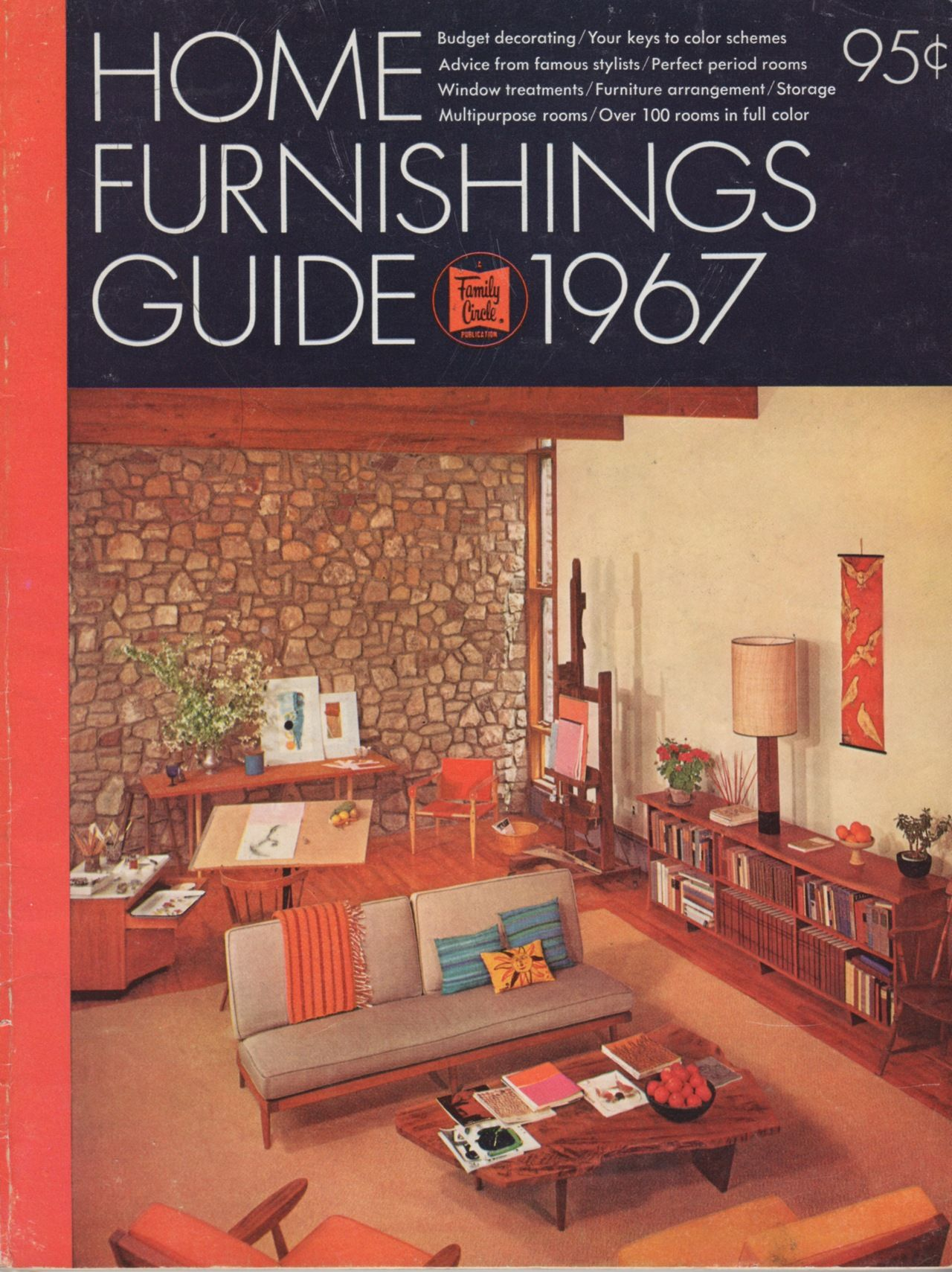 Home Furnishings Guide 1967 The Family Circle 1966