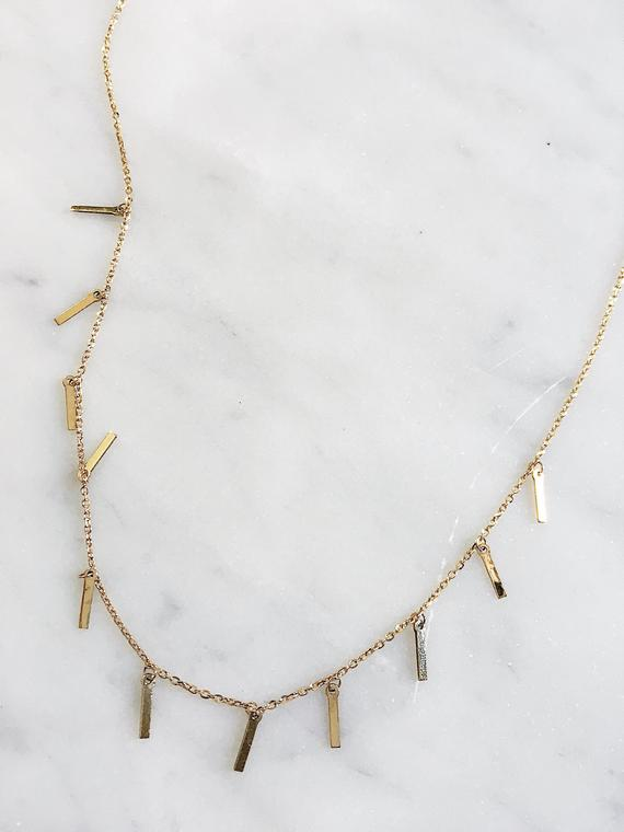 39e8ee3d80af1a SHAKER CHOKER NECKLACE / sterling silver layering jewelry / dainty  minimalist adjustable / diamond c