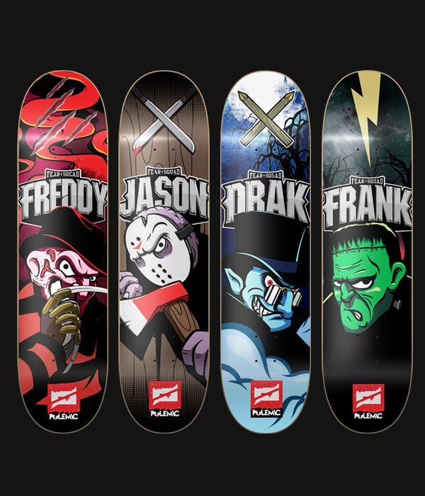 Polemic Skateboards on Behance