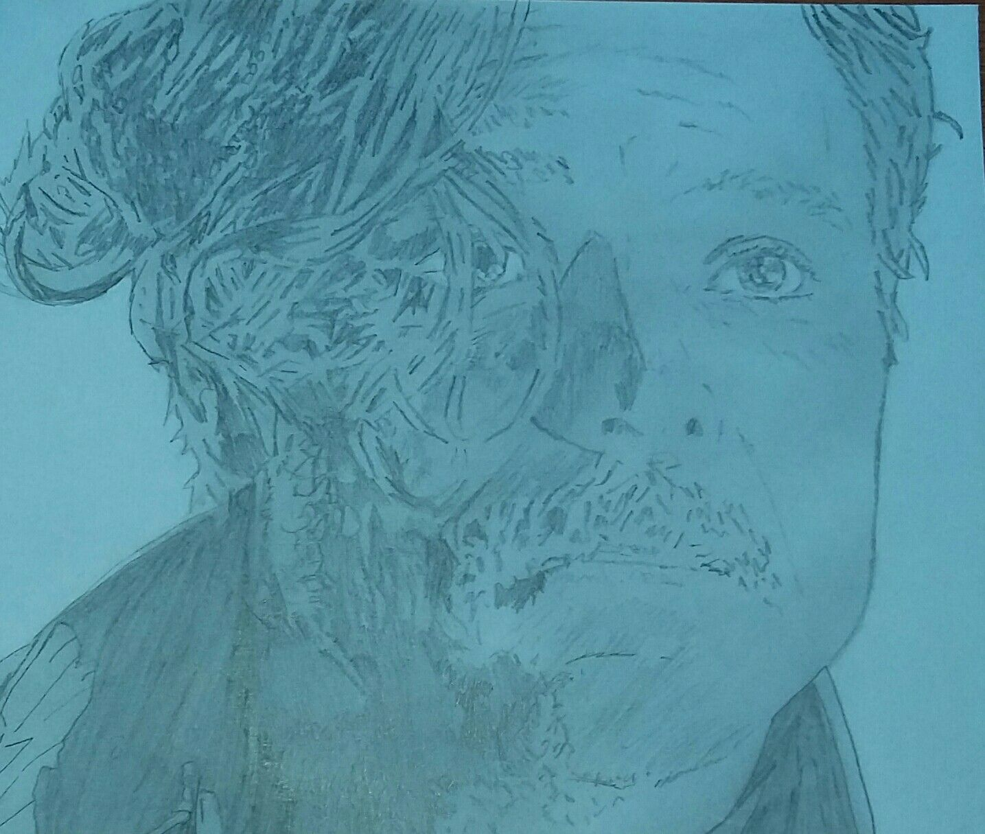 Draw of Clayne Crawford in Lethal Weapon