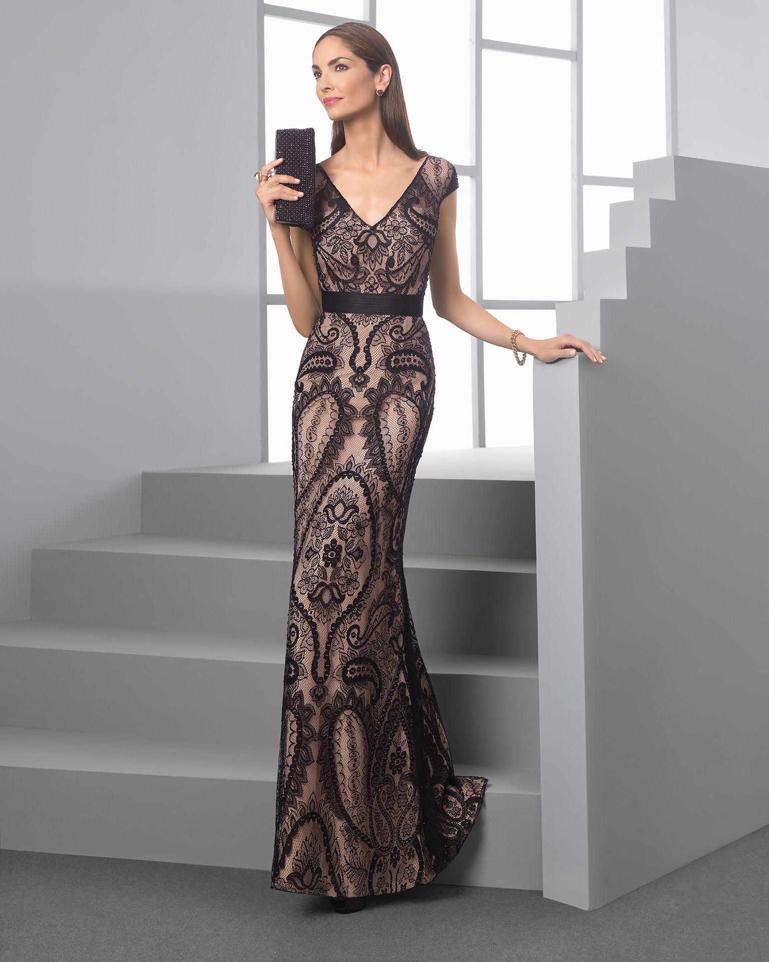 2516bbd527c3 1T2F7 | vestidos | Tintoretto vestidos, Vestido boda noche y ...