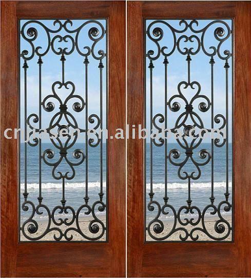 Resultado de imagem para portas de vidro temperado com grade