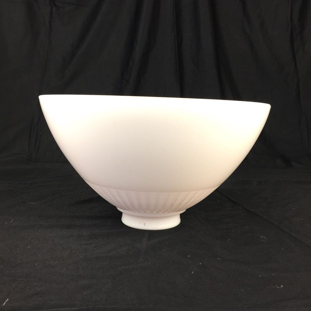 Milk Glass Torchiere Lamp Shade For Floor Lamp 10 Vintage Heavy
