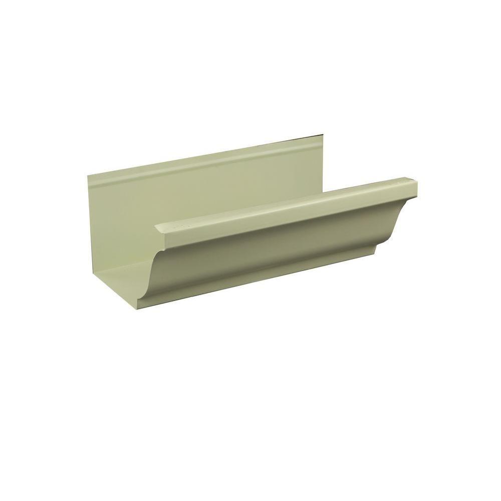 Spectra Metals 6 In X 8 Ft K Style Colonial Gray Aluminum Gutter 6kcg8 Gutter Metal Roof Gutters