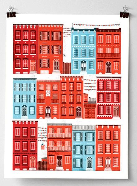 buildings illustration | Art: subjects | Pinterest | Building ...