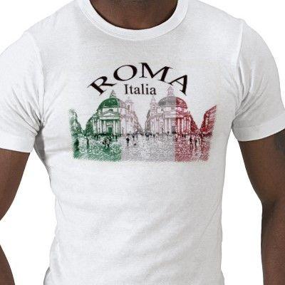 Roma Stamped Tee Shirt