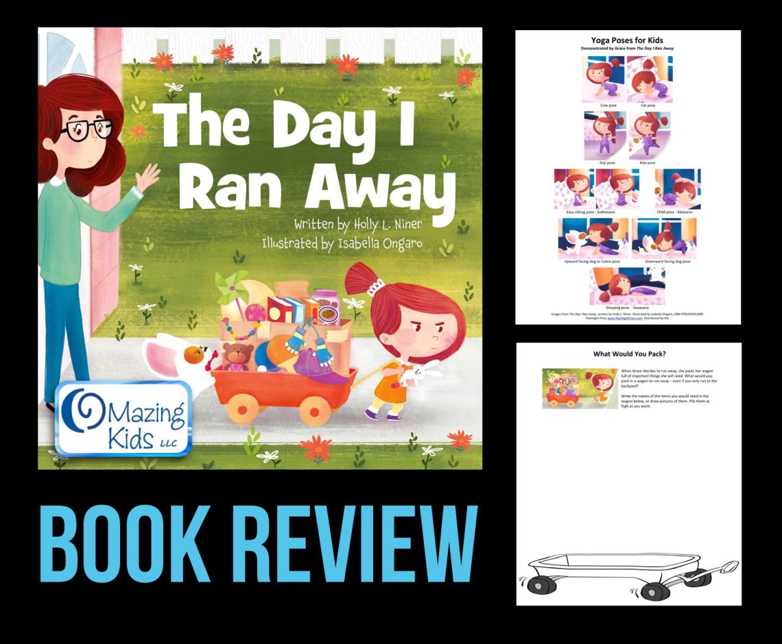 Book Review Yoga Therapy For Children >> Book Review The Day I Ran Away By Holly Niner I Love Using
