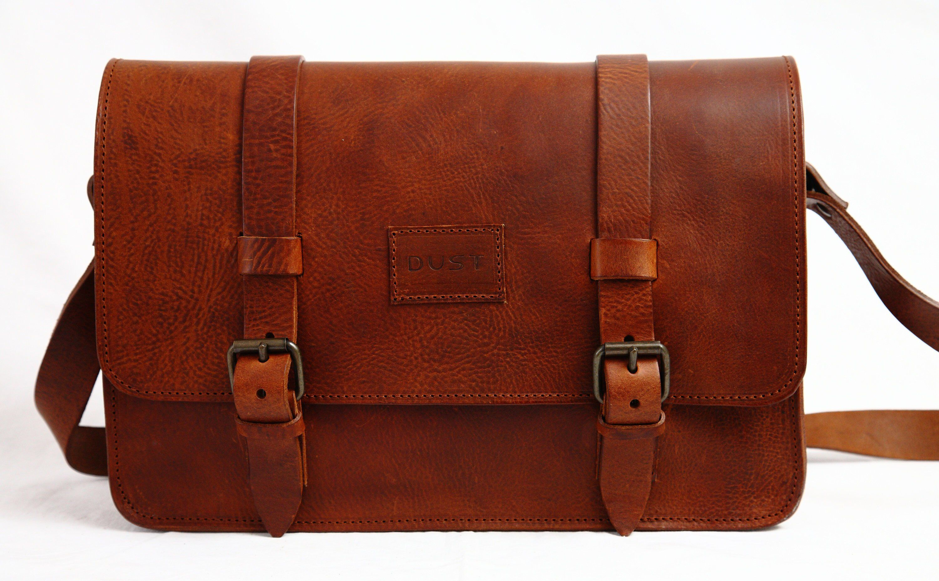 57f125539c Classic Leather Messenger Bag in Old West Brown by THEDUSTCOMPANY on Etsy  https