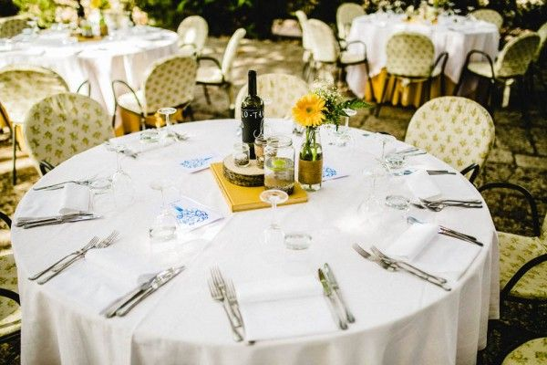 Colorful Destination Wedding in Italy