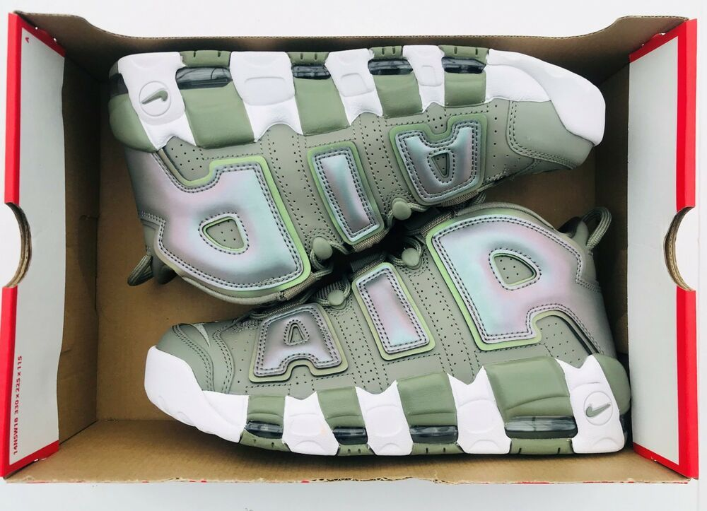 buy popular 1dd73 cb001 Nike Air More Uptempo 917593-001 Dark Stucco White Women s Size 9 - Nike  Airs
