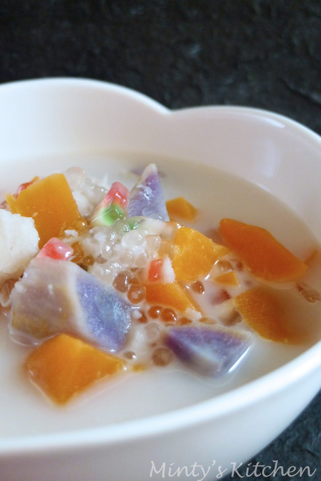 Minty S Kitchen Bubur Cha Cha Asian Desserts Cha Recipe Food