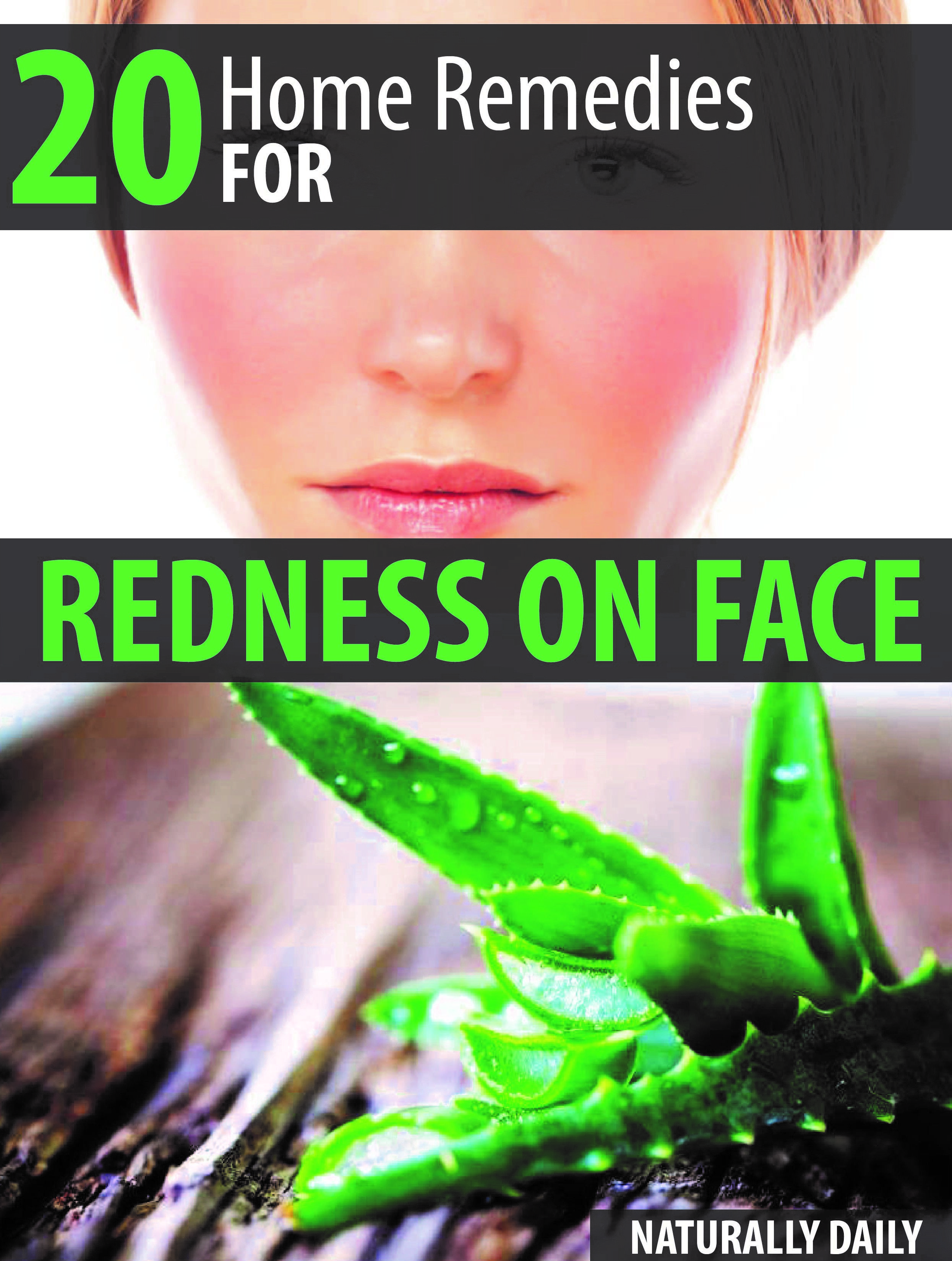 Home remedies for redness on face redness on face red