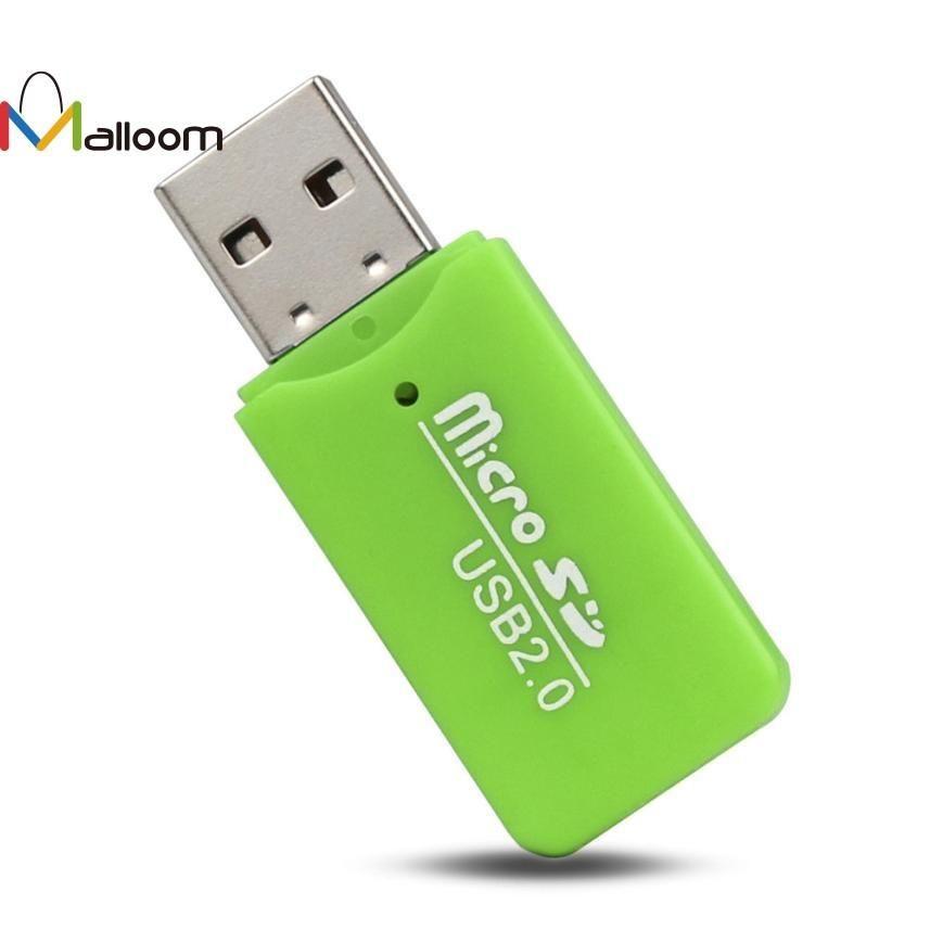 hot High Speed T-Flash Memory Card Reader Adapter Micro SD TF Mini USB 2.0 1PC