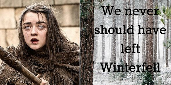 """If """"Game Of Thrones"""" Season 6 Quotes Were Motivational Posters"""