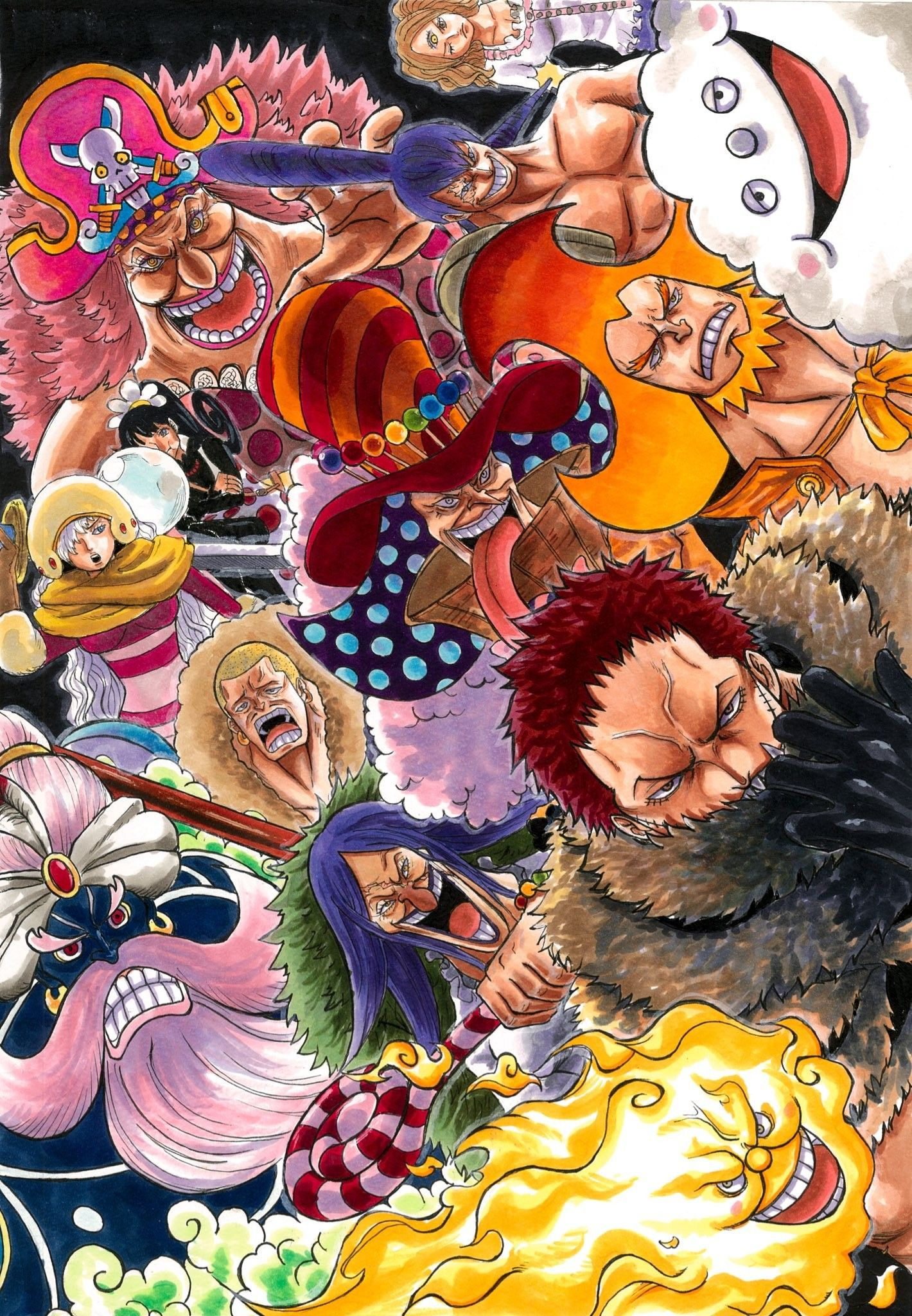 One Piece Special Manga Cover Art (Colored) {Whole Cake