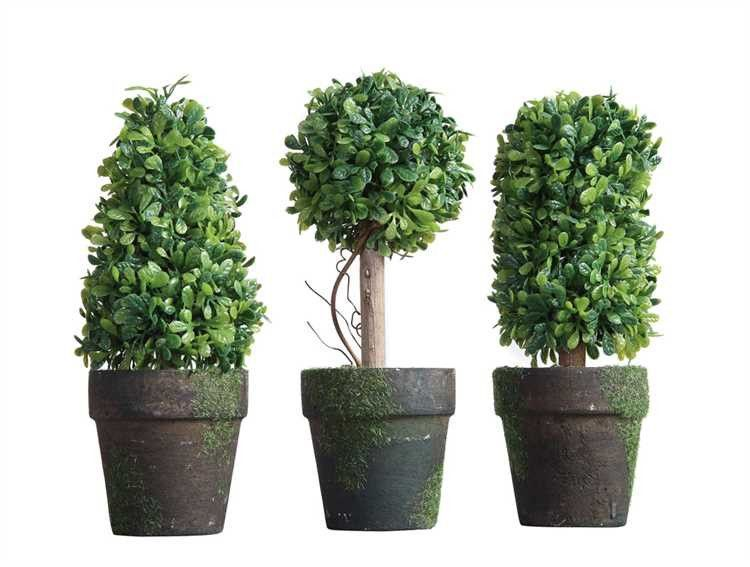 Artificial Topiary In Pot