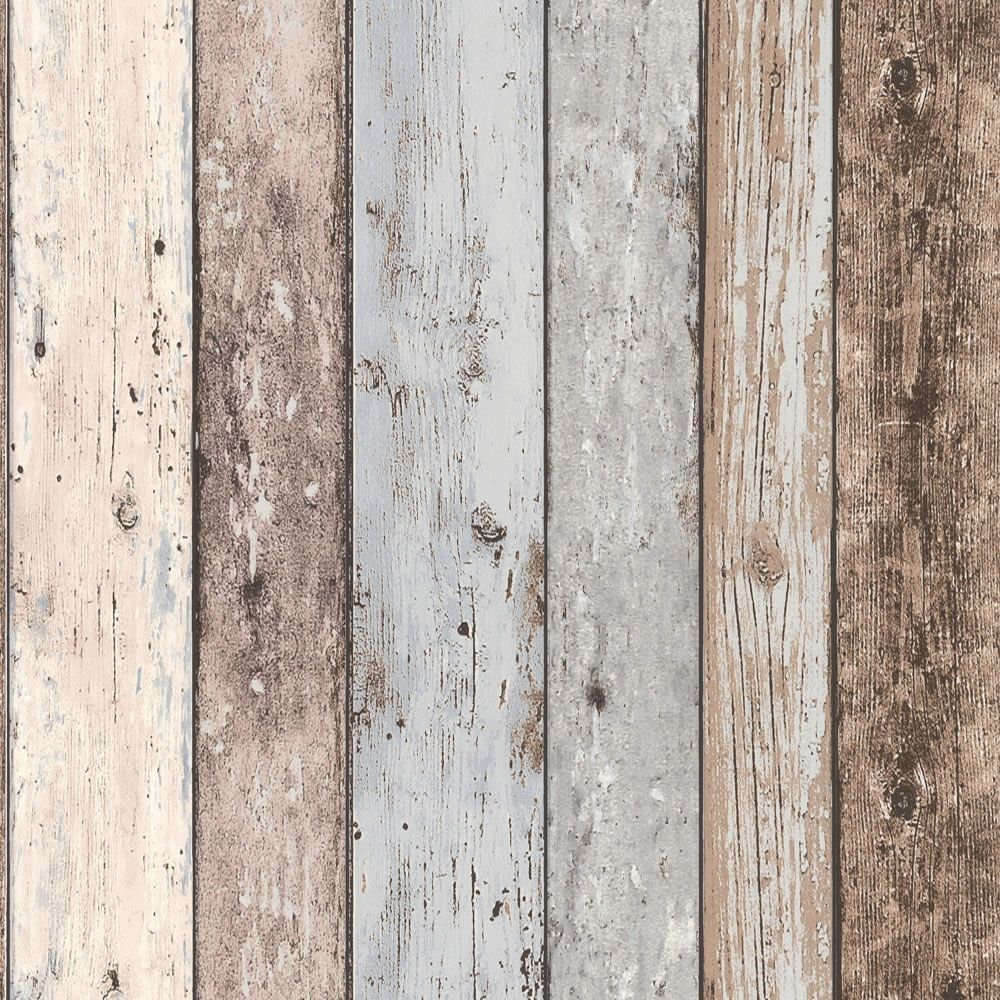 WASHROOM: Grey - 8550-39 - Realistic Distressed Wood Panel - New England - - WASHROOM: Grey - 8550-39 - Realistic Distressed Wood Panel - New