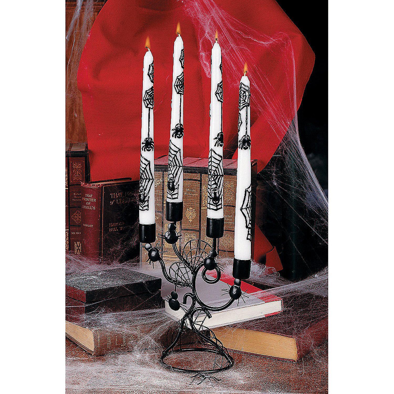 Candelabra & Spider Taper Candles  Orientaltradingcom
