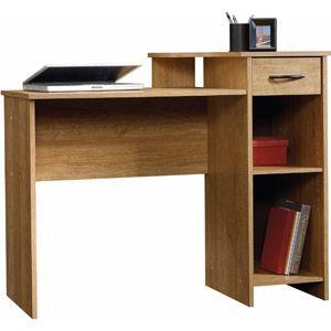 Sauder Beginnings Student Desk Highland Oak Good For A Small