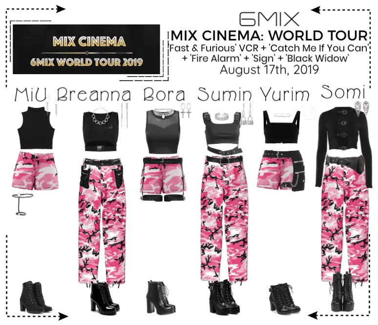 6mix Mix Cinema Amsterdam Outfit Shoplook Stage Outfits Kpop Outfits Kpop Fashion Outfits