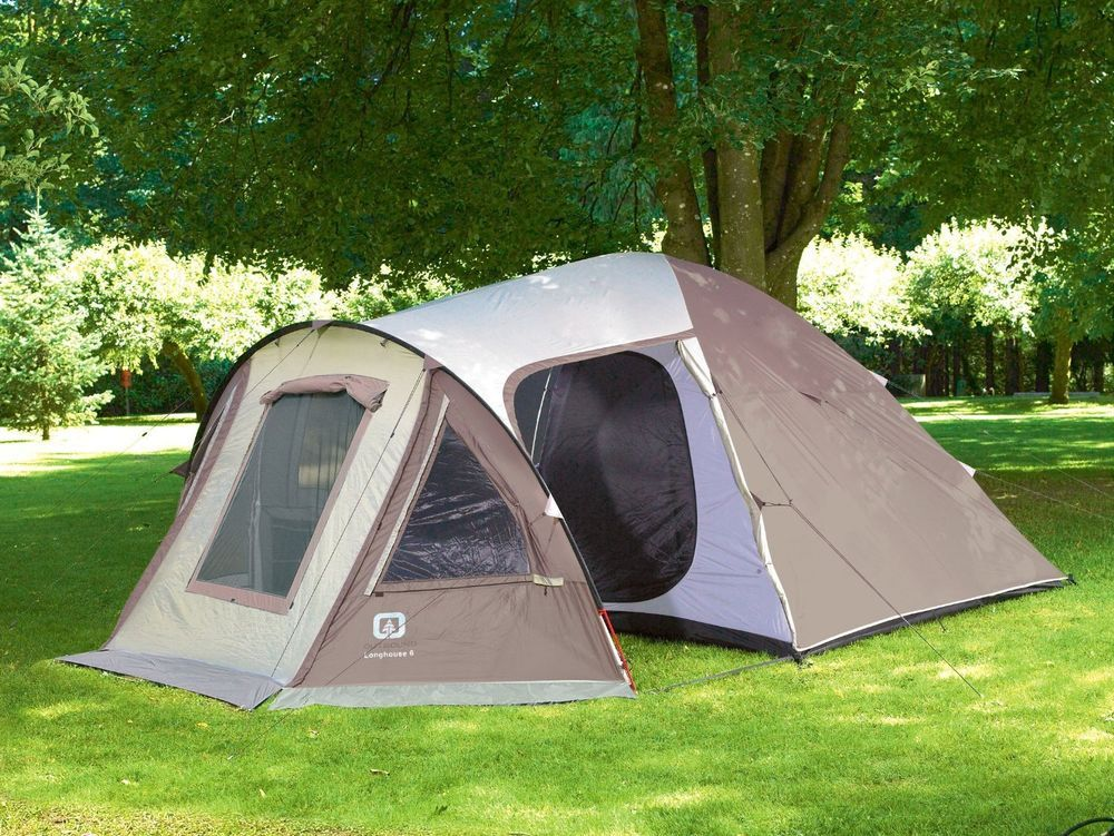 Outbound Longhouse 6 Person Two Room Family Dome Tent