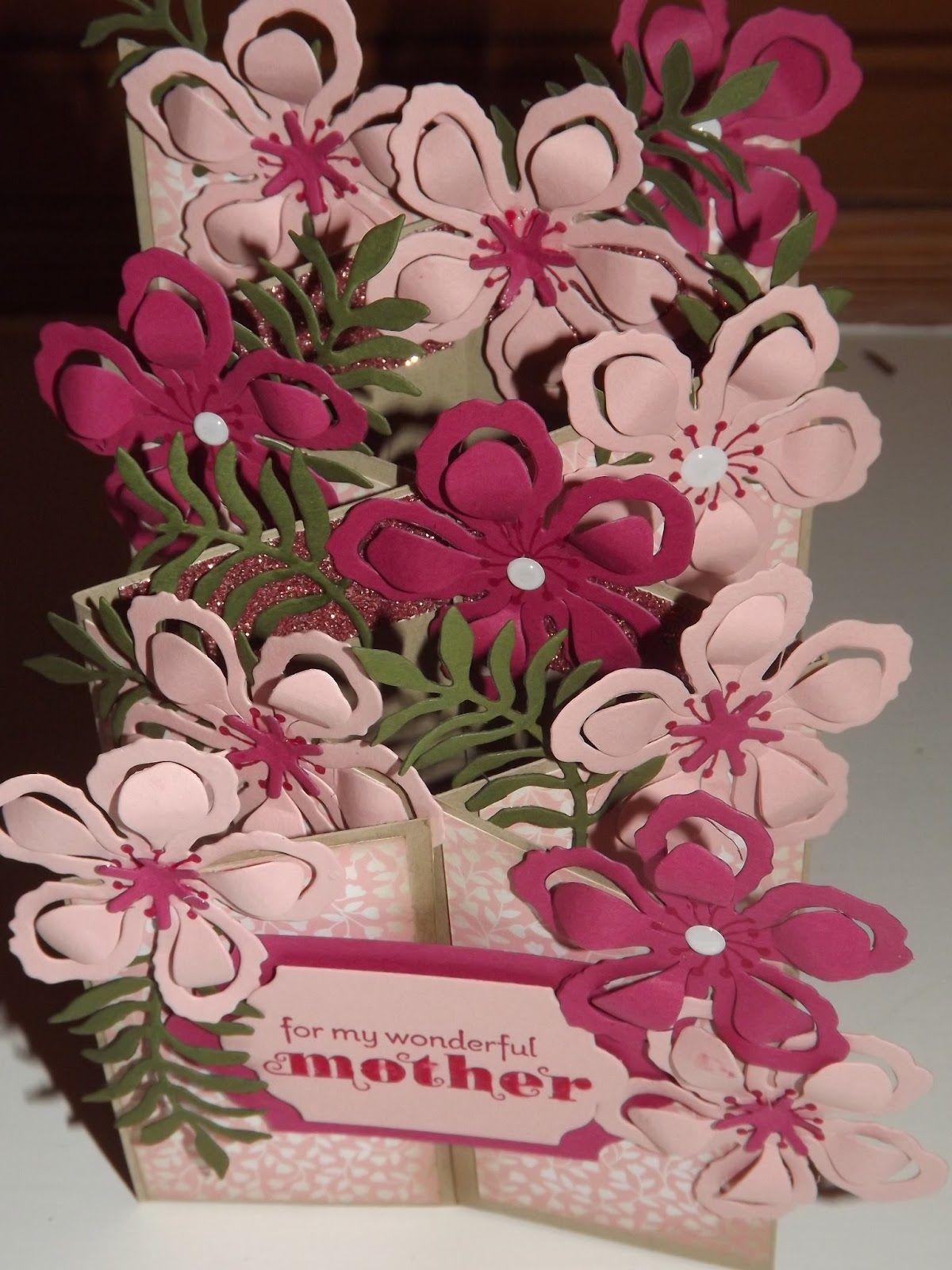 Kraftingk independent stampinuup demonstrator botanicals in pink