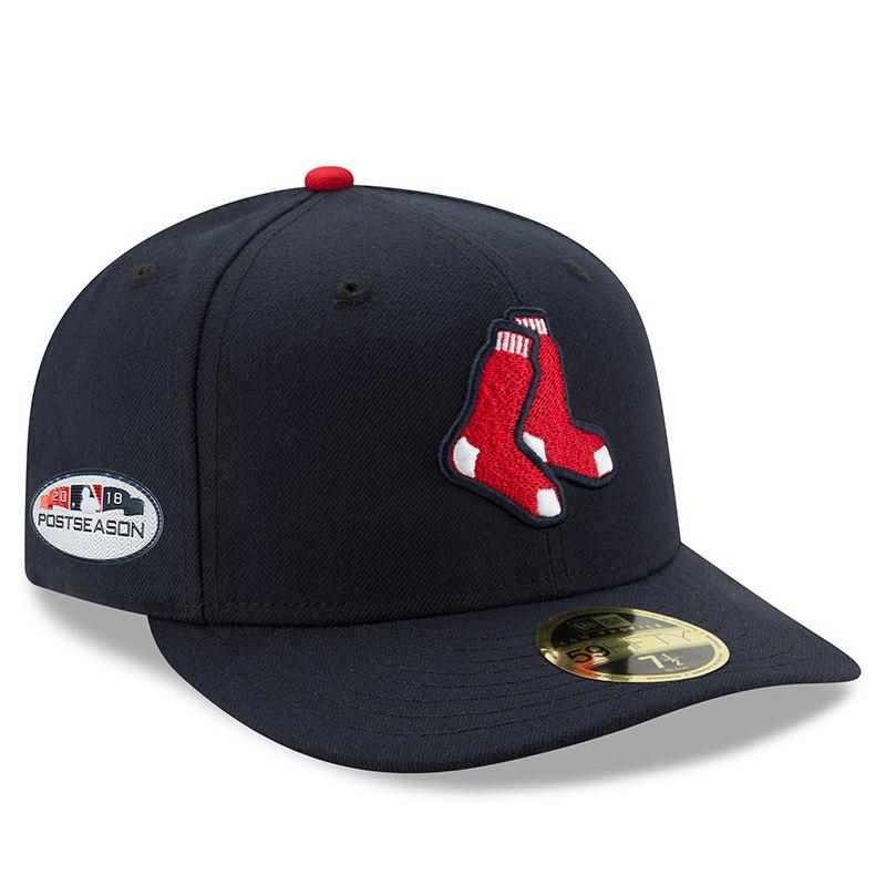 Boston red sox new era alternate 2018 postseason side