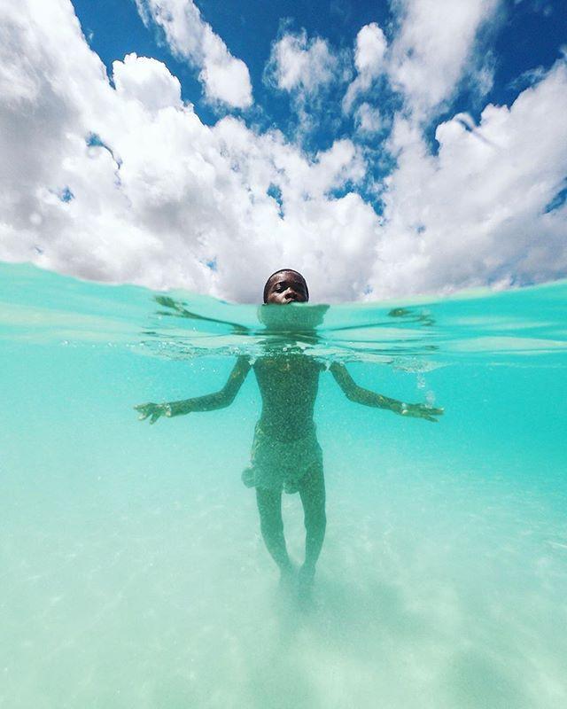 Swimming In The Prestige Waters Of Kendwa By Arturcabral